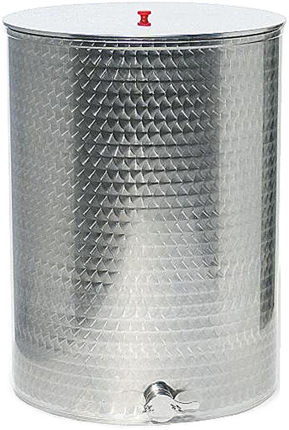 Maturateur 500 kg en acier inoxydable avec robinet chromé Lega
