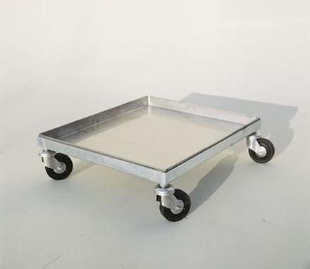 Carro Inox 50 X 50 Cm Lg