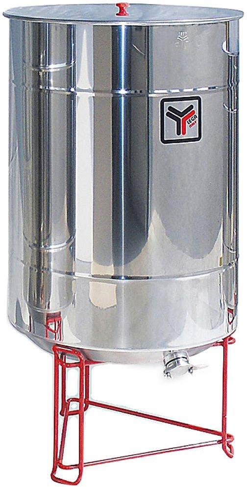 Madurador inox 500 kg con grifo metálico Lega