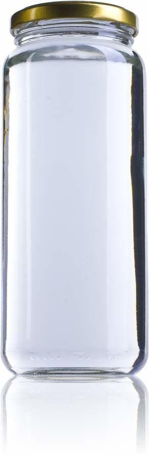 20 Par-600ml-TO-063-envases-de-vidrio-tarros-frascos-de-vidrio-y-botes-de-cristal-para-alimentación