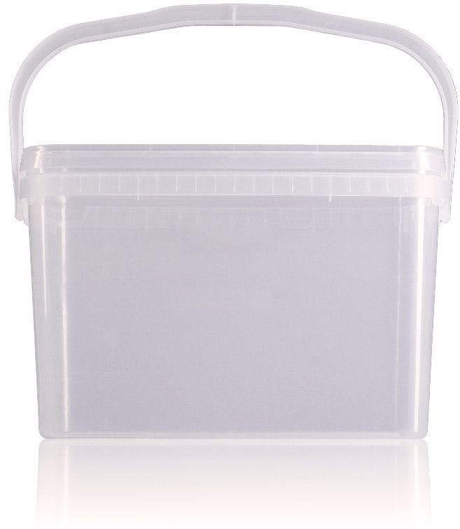 Seau en plastique rectangulaire 7,5 litres