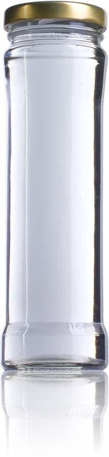 7 CYL 211 ml TO 048 Embalagens de vidro Boioes frascos e potes de vidro para alimentaçao