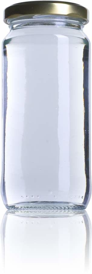 8 PAR 244ml TO 053 MetaIMGFr Tarros, frascos y botes de vidrio