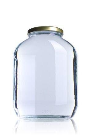 A 2650 2650ml TO 089 Embalagens de vidro Boioes frascos e potes de vidro para alimentaçao