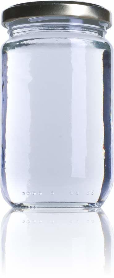 A 314 314ml TO 063 Embalagens de vidro Boioes frascos e potes de vidro para alimentaçao