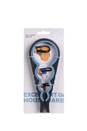 Jar and bottle opener 4 sizes in 1