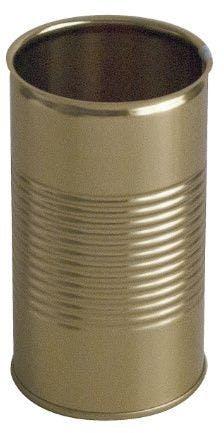 Lata metálica cilíndrica 10 oz 314 ml fácil apertura