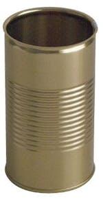 Lata metálica cilíndrica 12 oz 370 ml fácil apertura