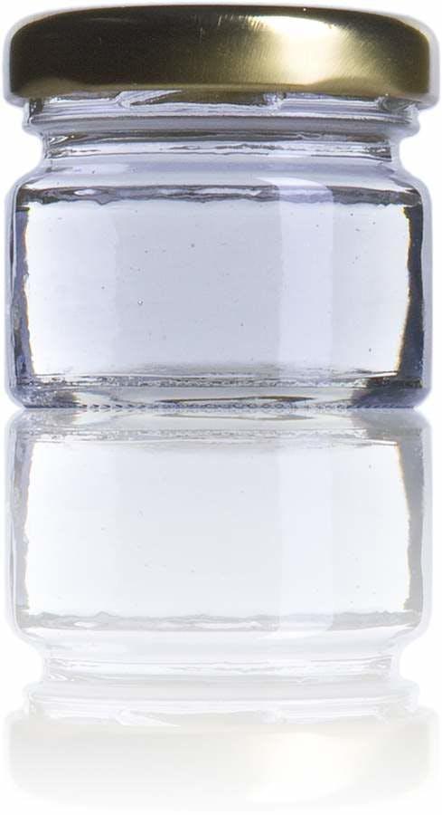 B 1 onza-33 ml -TO-043-envases-de-vidrio-tarros-frascos-de-vidrio-y-botes-de-cristal-para-alimentación