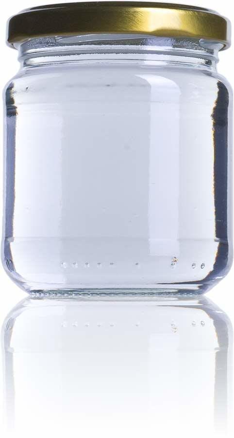 B 212 ml TO 063 Embalagens de vidro Boioes frascos e potes de vidro para alimentaçao