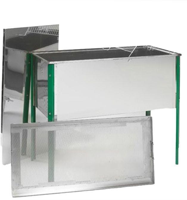 Banco para desopercular Inox 100 X 46,5 X 41 cm