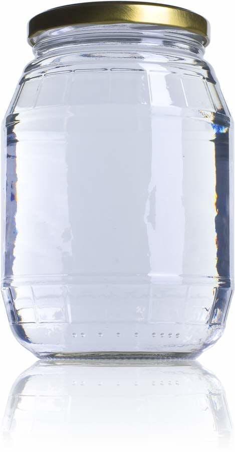 Barril 997-997ml-TO-082-envases-de-vidrio-tarros-frascos-de-vidrio-y-botes-de-cristal-para-alimentación