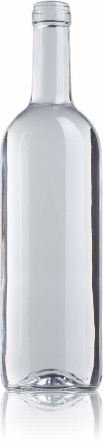 Bordalesa Ecova Estándar 75 BL 750ml Corcho STD 185 Embalagem de vidrio Botellas de cristal bordalesas
