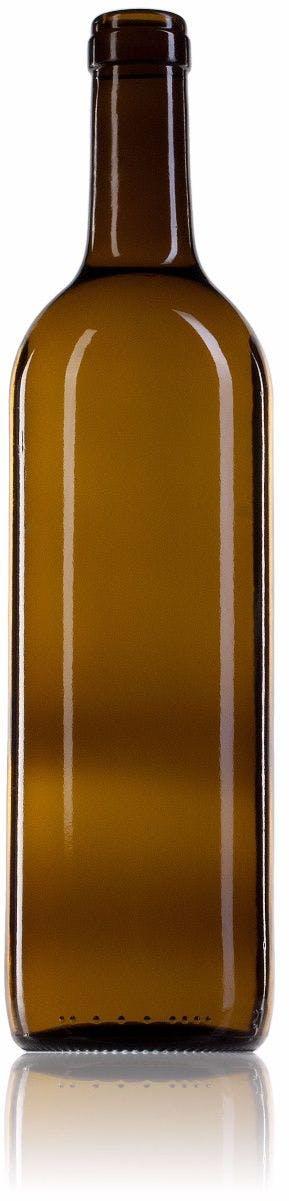 Bordalesa Ecova Estándar 75 CA 750ml Corcho STD 185 Embalagem de vidrio Botellas de cristal bordalesas