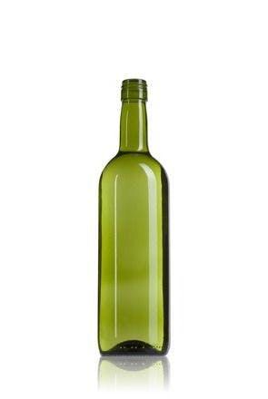 Bordalesa Estándar 75 BVS AV 750ml Rosca BVS30H44 Embalagem de vidrio Botellas de cristal bordalesas