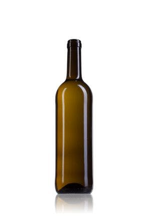 Bordalesa Optima Ecova 75 BL 750ml Corcho STD 185 Embalagem de vidrio Botellas de cristal bordalesas