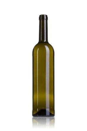 Bordelaise Prestigio Ecova 75 CA 750ml Corcho STD 185 MetaIMGFr Botellas de cristal bordelesas