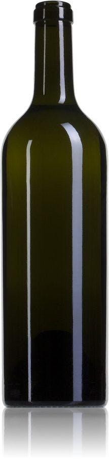 Bordelesa Renaissance 75 CA-750ml-Corcho-STD-185-envases-de-vidrio-botellas-de-cristal-y-botellas-de-vidrio-bordelesas