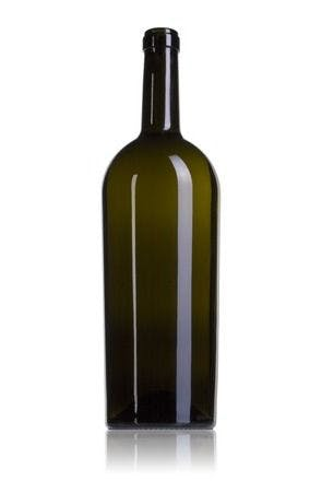 Bordalesa Storica 150 VE 1500ml Corcho BB09 185 Embalagem de vidrio Botellas de cristal bordalesas