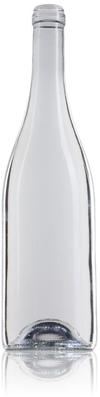 Bourgogne Optima Ecova 75 BL 750ml Corcho STD 185 MetaIMGFr Botellas de cristal borgoñas