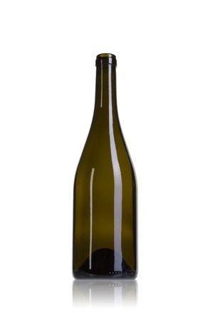 Borgonha Terra 75 CA 750ml Corcho STD 185 Embalagem de vidrio Botellas de cristal borgonha