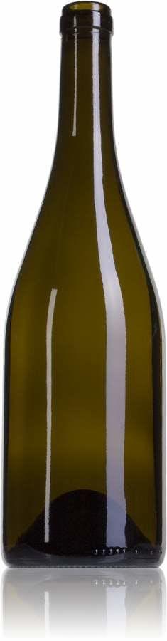 Borgoña Terra 75 CA-750ml-Corcho-STD-185-envases-de-vidrio-botellas-de-cristal-y-botellas-de-vidrio-borgoñas
