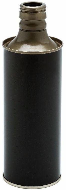 Metal olive oil bottle 500 ml