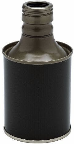 Metallic olive oil bottle 250 ml
