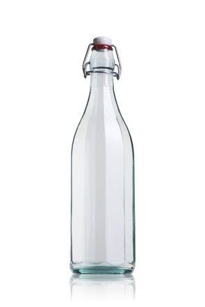 Faceted swing top Costolata 1000 ml