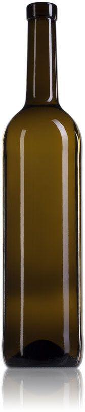 Bouteille en verre Bordeaux 75 330 mm