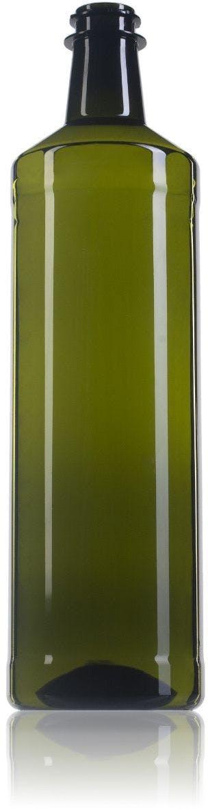 Dorica Pet 1000 ml green Bertoli 30/21