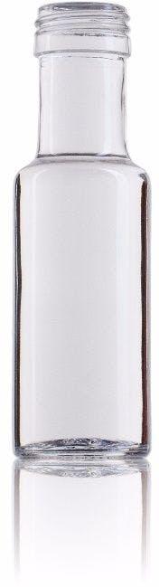Dórica 100 ml BL boca Rosca SPP (A315)-envases-de-vidrio-botellas-de-cristal-aceites-y-vinagres