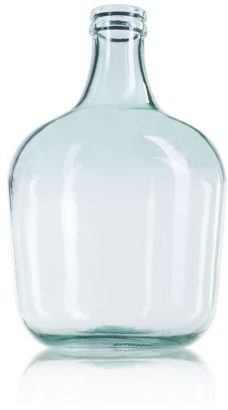 Large glass carafe 12 liters