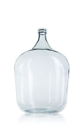Garrafa de cristal grande 34 litros