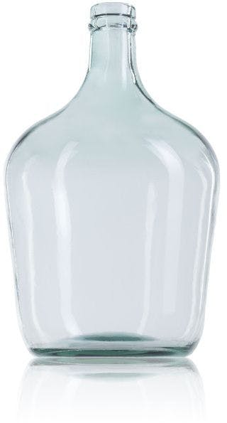 Large glass carafe 4 liters