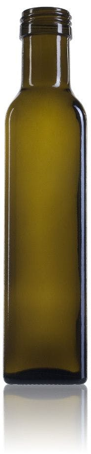 Marasca 250 CA marisa Rosca SPP (A315) Embalagens de vidrio Botellas de cristal   aceites y vinagres