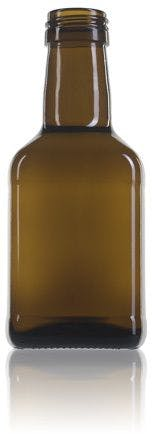 square glass bottle for Estefanía 250 oil