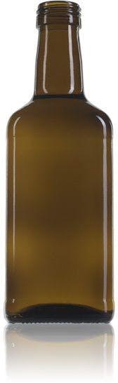 botella cuadrada de cristal para aceite Estefanía 500