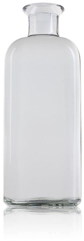 Garrafa de vidro para óleo 1 litro com rolha de cortiça