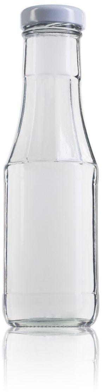 Ketchup 320 ml TO 38 MTO Embalagens de vidro Boioes frascos e potes de vidro para alimentaçao