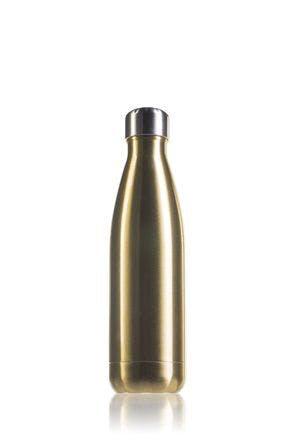Garrafa térmica de aço inoxidável Ouro de 500 ml