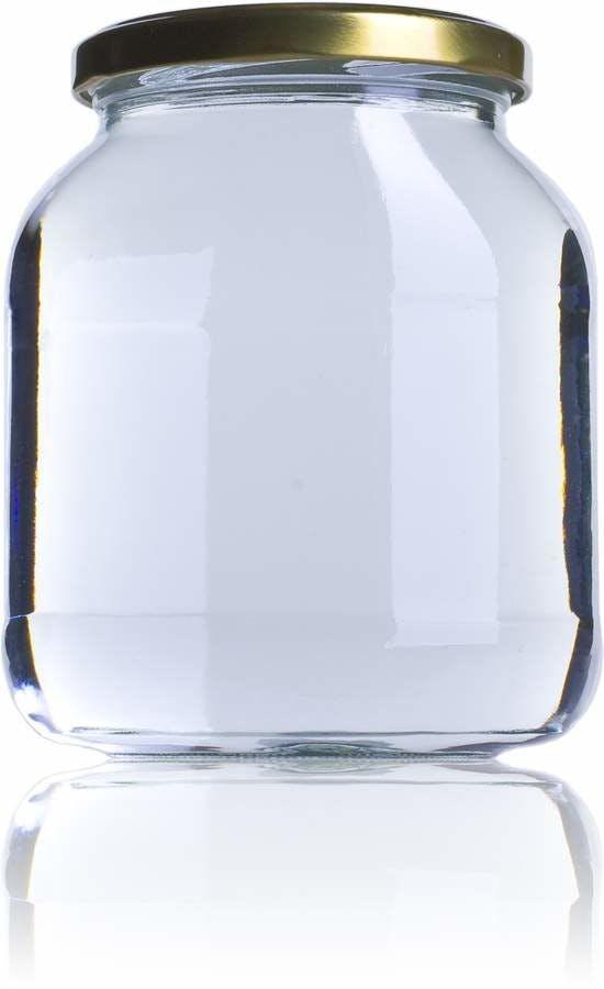 BOV 720 720ml TO 082 Embalagens de vidro Boioes frascos e potes de vidro para alimentaçao