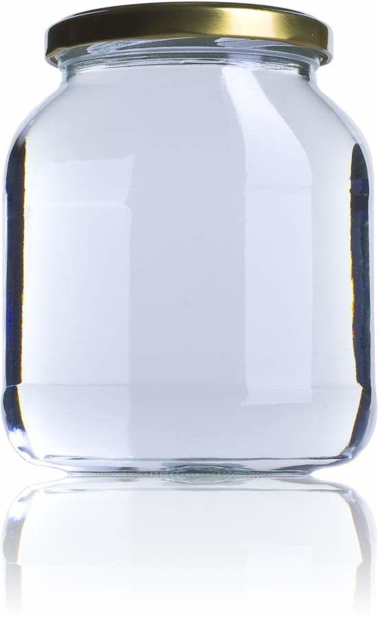 BOV 720 720ml TO 082 MetaIMGFr Tarros, frascos y botes de vidrio