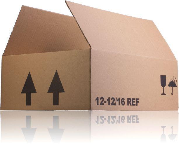 Caisse en carton 12 unités  12 16 REF