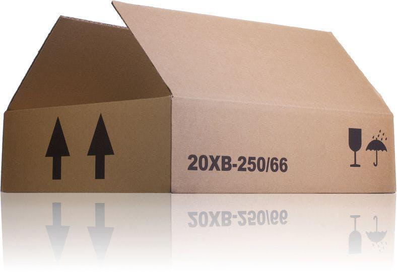 Caixa de cartão 20 unidades B 250 Embalagens e Caixas cartão caixas de cartão