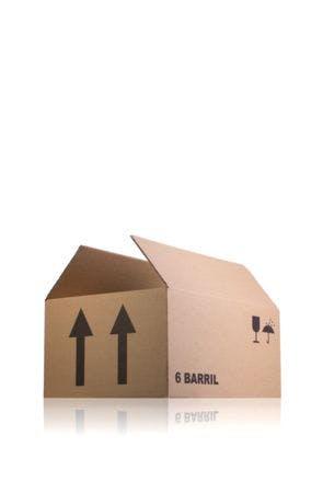Caja de carton para tarro de vidro BARRIL 997