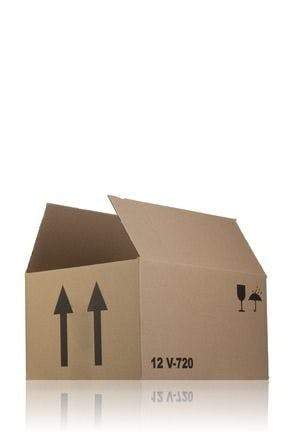 Carton box single channel 32 x 24 x 17 V720 x 12 MetaIMGIn Cajas de carton