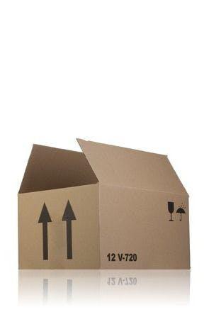 Caisse en carton monocanal 32 x 24 x 17 V720 x 12 MetaIMGFr Cajas de carton