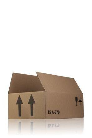 Carton box single channel 36 x 21 x 12 A370 x 15 MetaIMGIn Cajas de carton