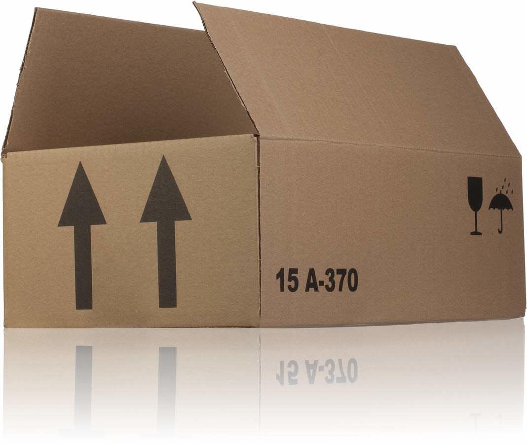 Caisse en carton monocanal 36 x 21 x 12 A370 x 15 MetaIMGFr Cajas de carton